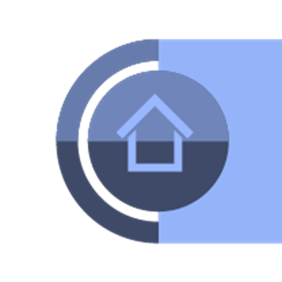 Picture showing a logo of a house